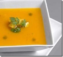 Sopa de calabaza. Receta | cocinamuyfacil.com