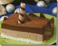 Delicia de Tres Chocolates. Receta para Navidad | cocinamuyfacil.com