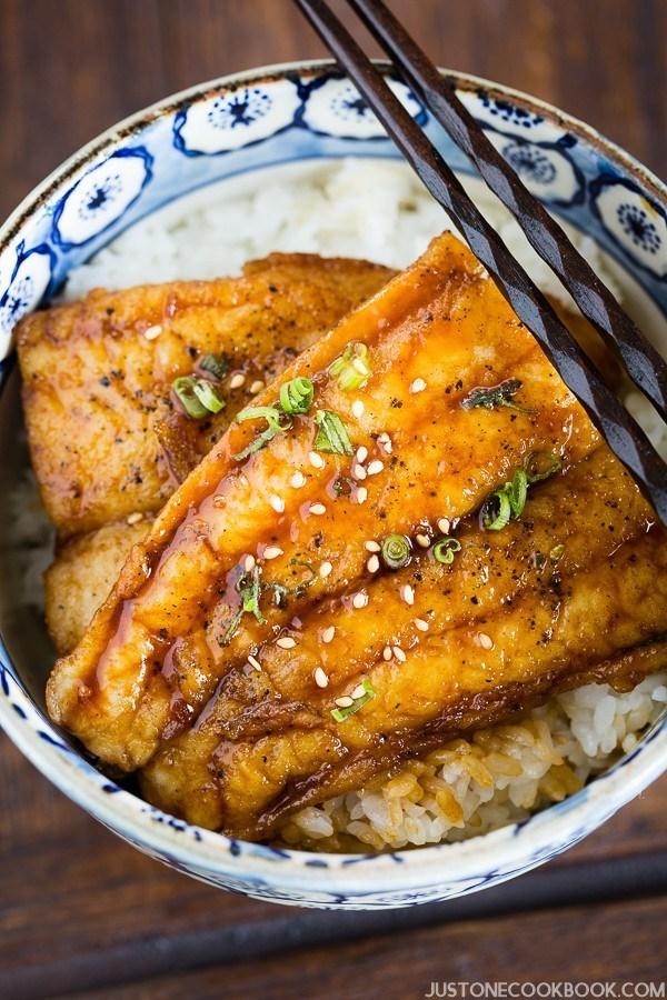 Kabayaki - gastronomía de Tokio