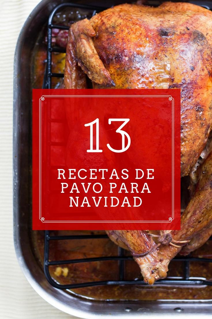 13 increíbles recetas de pavo para Navidad y Año Nuevo   cocinamuyfacil.com