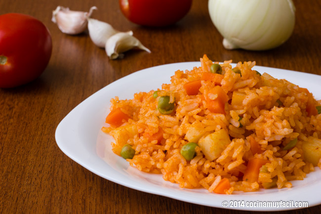 Mexican red rice | cocinamuyfacil.com