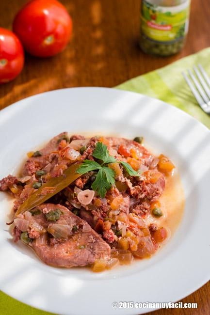 Carne al vapor. Receta | cocinamuyfacil.com