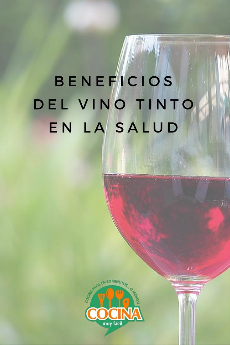 Beneficios del vino tinto en la salud | cocinamuyfacil.com
