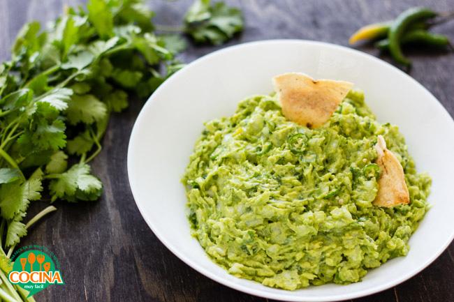 Guacamole. Receta   cocinamuyfacil.com