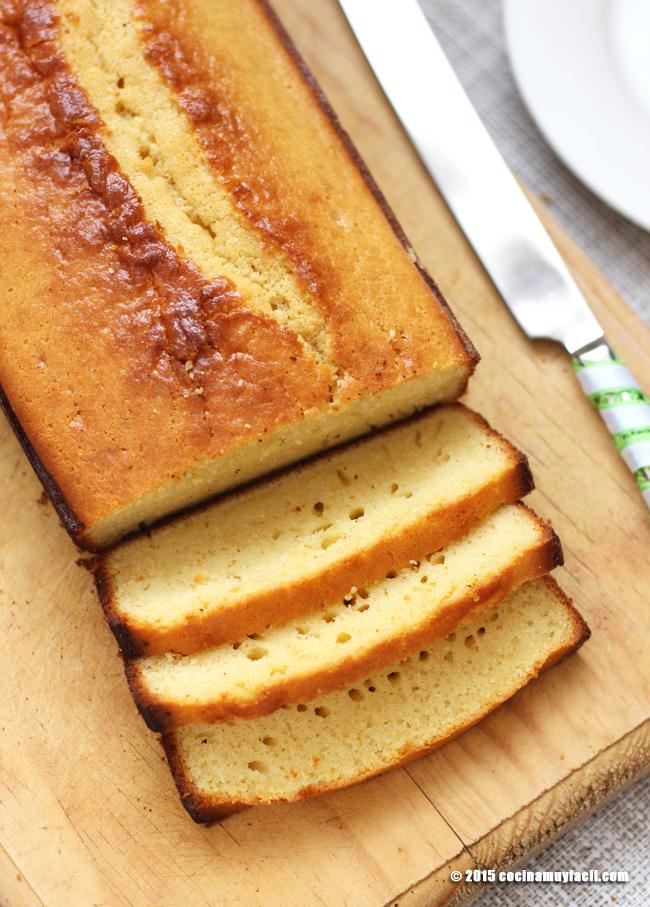 Panqué de nata. Receta | cocinamuyfacil.com