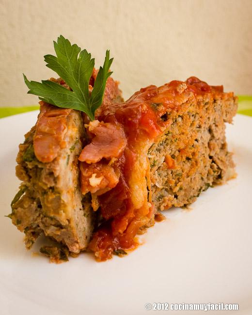 Pastel de carne. Receta   cocinamuyfacil.com