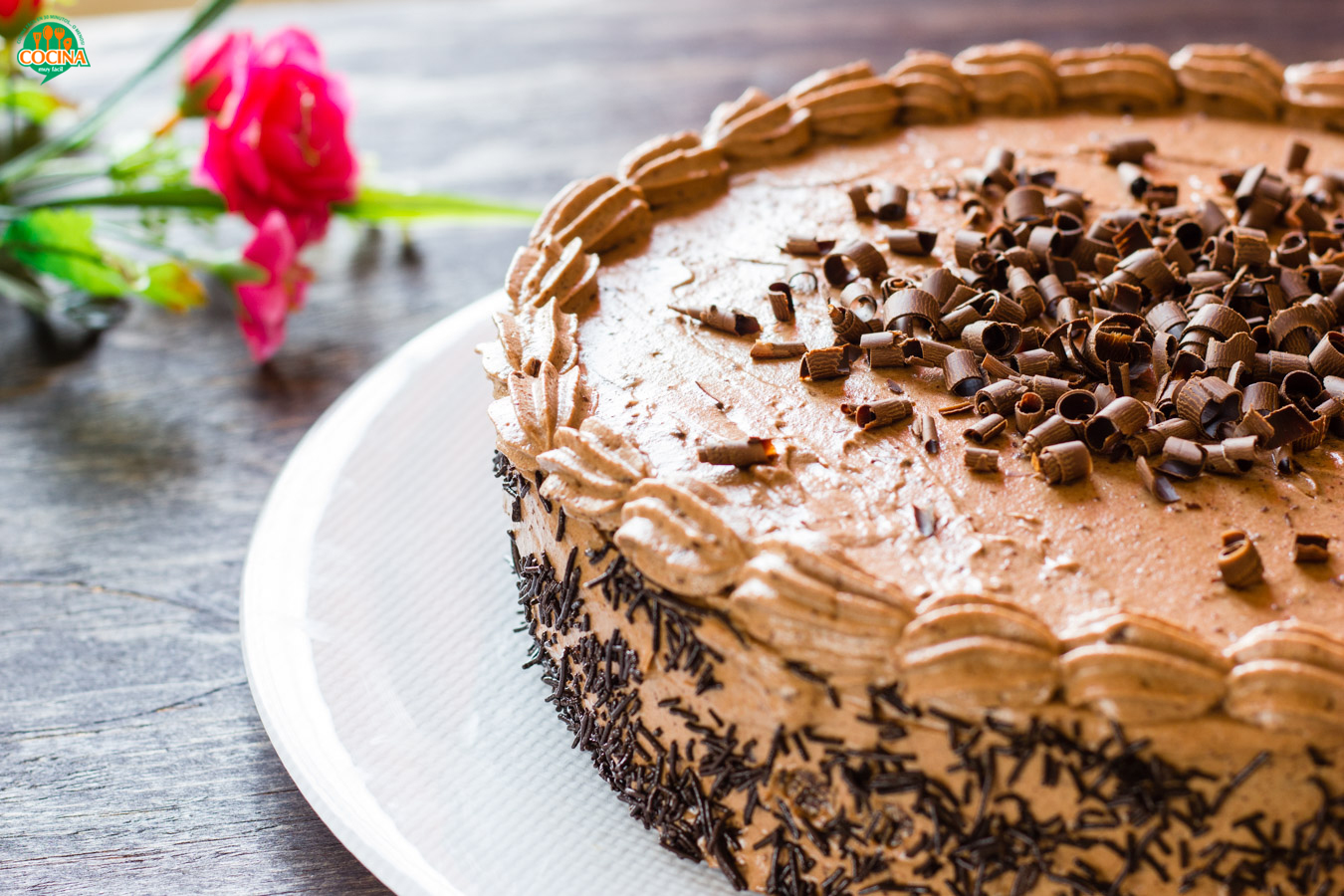 Pastel de chocolate. Receta   cocinamuyfacil.com