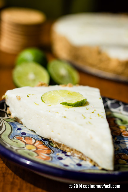 Pay de limón con queso crema | cocinamuyfacil.com
