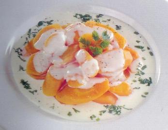 Zanahorias con crema receta
