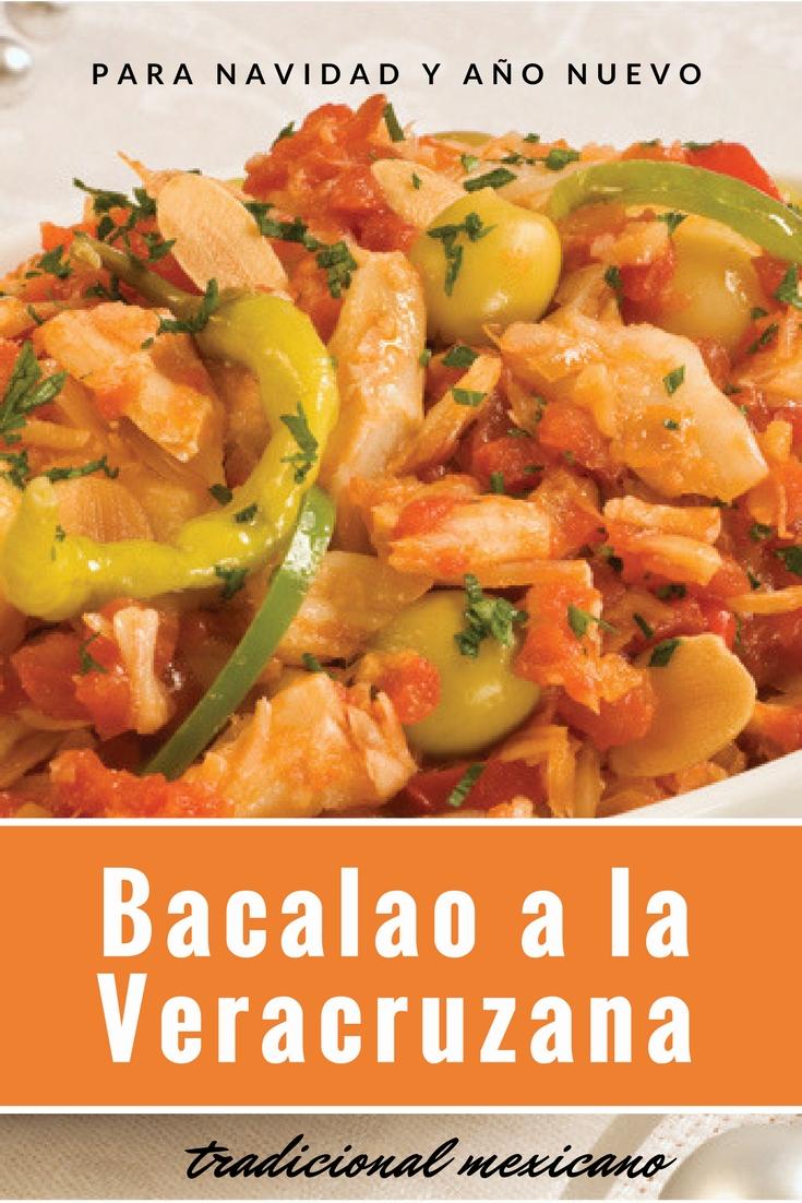 Bacalao Tradicional Mexicano. Receta de Navidad y Año Nuevo | cocinamuyfacil.com