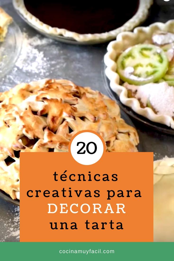 20 técnicas creativas para decorar una tarta   cocinamuyfacil.com