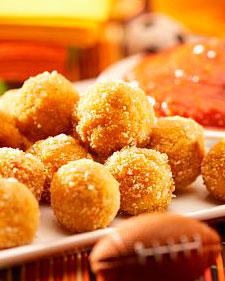 Bolitas de Arroz Arancini. Cocina Italiana