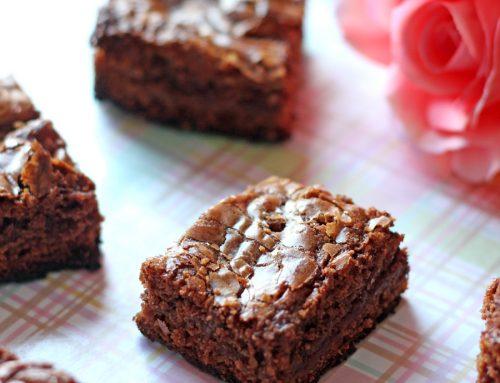 Brownies de Nutella. Receta de San Valentín