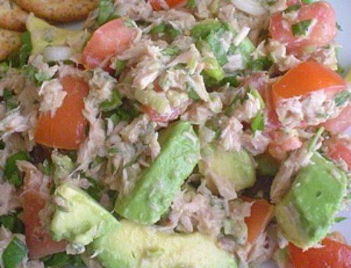Ensalada de Atún con Jitomate y Zanahoria