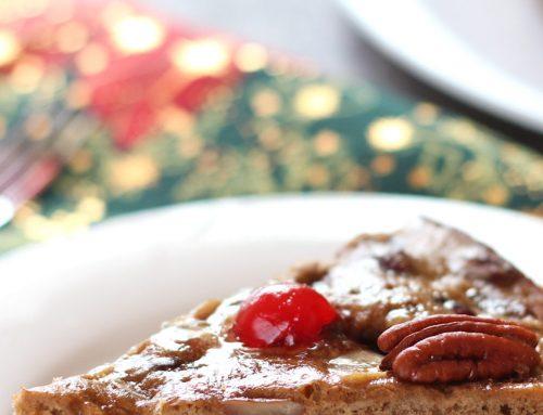 Tarta de frutos secos o fruitcake navideño. Receta