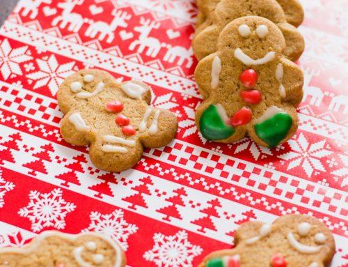 Galletas de jengibre. Receta para Navidad
