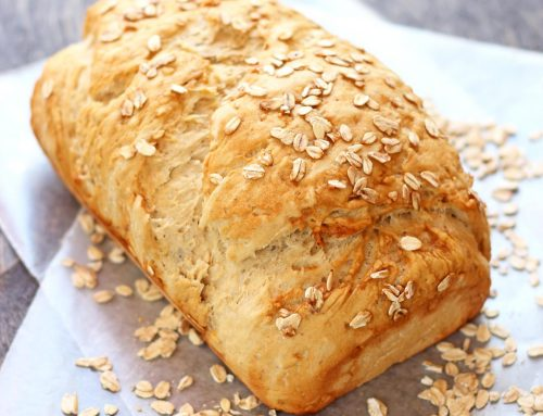 Pan de avena y miel. Receta