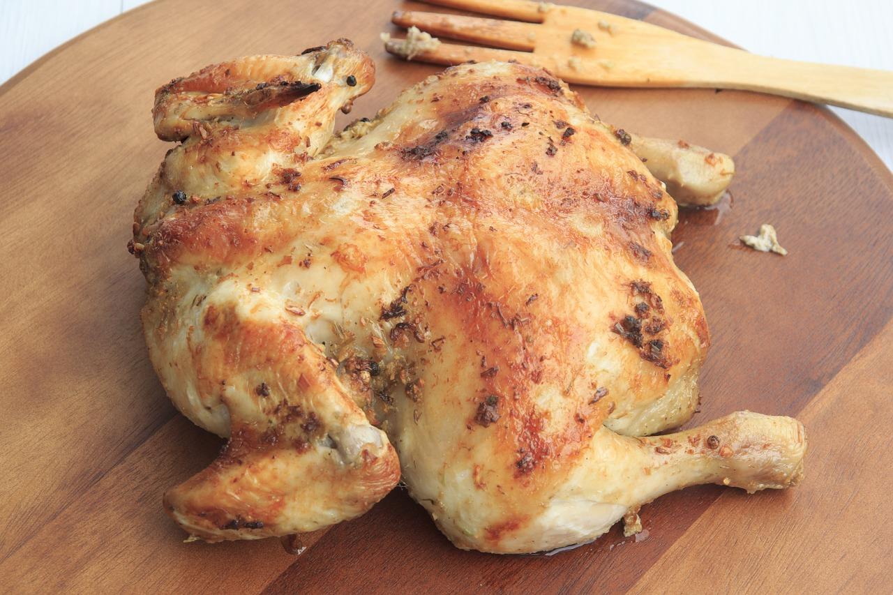 ¿Cómo hacer un pollo al horno?