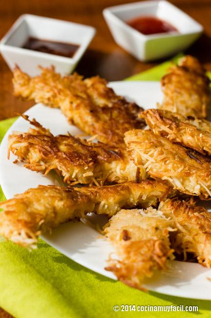 chicken and coconut nuggets | cocinamuyfacil.com