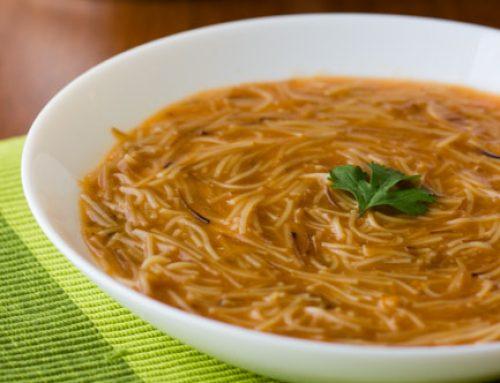 Sopa de Fideo. Receta