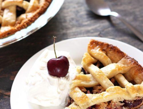 Tarta de cerezas o Cherry Pie. Receta